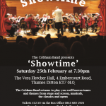 Next Event : Showtime in Thames Ditton on February 25th